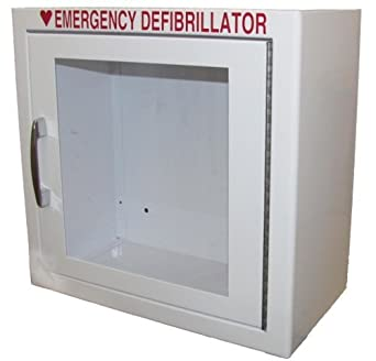 NON Alarmed AED Defibrillator Wall Mounted Storage Cabinet Fit for ...