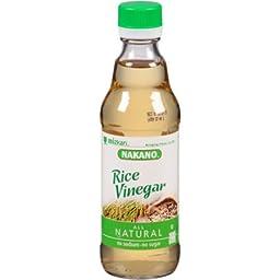 Nakano Rice Vinegar, 12 fl oz, (Pack of 6)