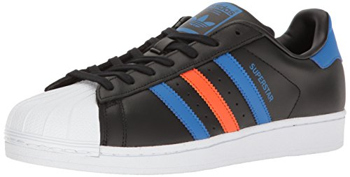 Adidas Originals Heren Superster Cblack / Cblack / Blubir