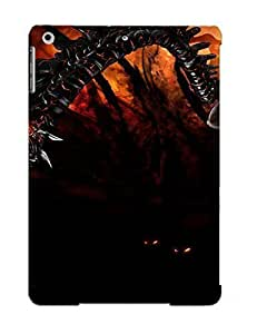 Crazylove Brand New Defender Case For Ipad Air (thedarkness Darkness Dark Games Videogames Evil Demon Fantasy Comics Fire Flames ) / Christmas's Gift
