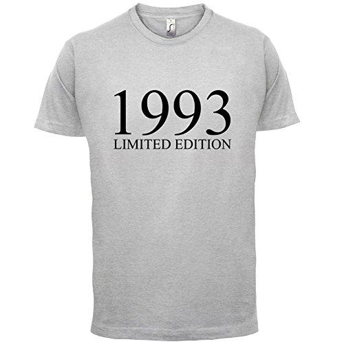 1993 Limierte Auflage / Limited Edition - 24. Geburtstag - Herren T-Shirt - Hellgrau - XXL