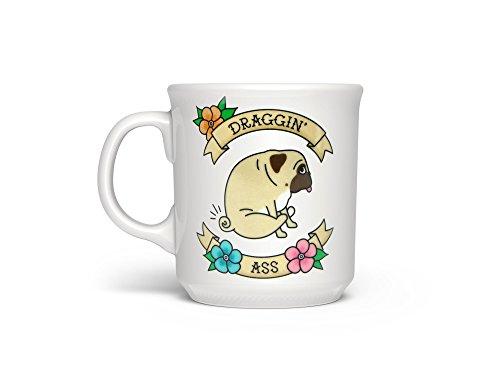 - Fred 5228628 SAY ANYTHING Ceramic Coffee Mug, 16-Ounce, Draggin'