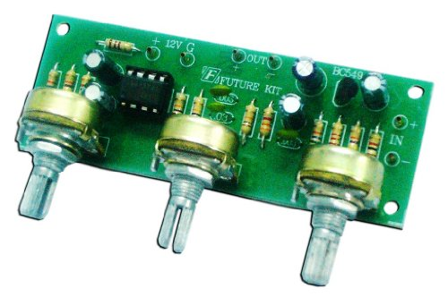 (Mono TONE CONTROL BASE / VOLUME / TREBLE Assembed Electronic Circuit : FA625)