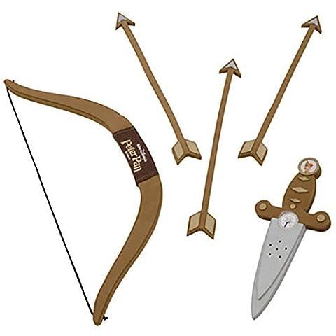 Peter Pan Costume Sword Dagger Bow and Arrow Set - Peter Pan Toy
