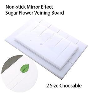 SK Petal and Leaves Veining Board Sugarcraft Modelling Board Sugar Flower Sugarcraft Tools 27