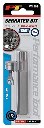 (Wilmar W1399 Triple Square (12pt) 12mm Serrated Wrench (12 pt.))