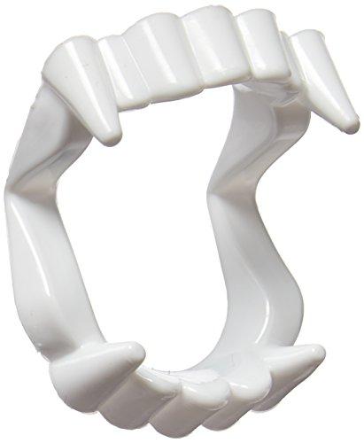 12 colmillos de vampiro blanco, dientes de plástico, accesorios para disfraces, accesorios para fiestas