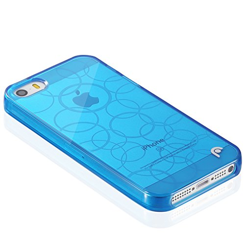 Fosmon DURA Series (TPU) Semi Flex Skin Case Cover for New Apple iPhone 5 / 5S