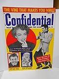 Elvis cover Confidential movie Stars vintage magazine 1950s