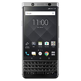 "BlackBerry KEYone 32GB BBB100-1 - 4.5"" Inch Factory Unlocked LTE Smartphone (Silver) - International Version - No Warranty in the US - GSM ONLY, NO CDMA"