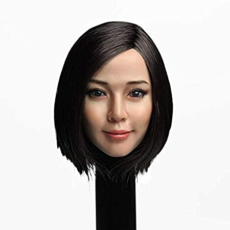 1//6 Scale Lovely Girl Child  Head Carving Fit 12/'/' Action Figure Toy