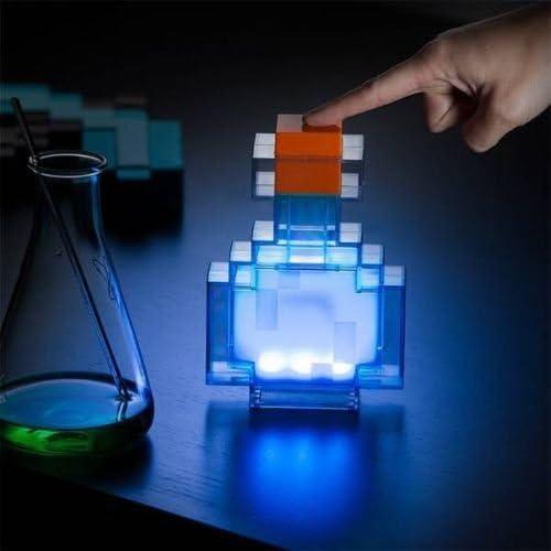 LED Potion Desk Lamp Color Changing Night Light Magic Bottle 8 Colors