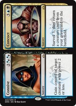 マジック: ザ・ギャザリング - コニブ/コンコクト (222/259) - ラヴニカのギルド。