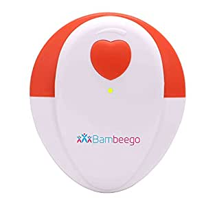 Heartbeat Baby Monitor- BabyBlip Womb Baby Sound Amplifier With Dual Listening Capability by Bambeego