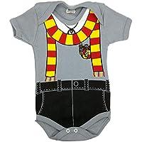 Body Infantil PiftPaft Harry Potter - Enxoval Bebe Temático Menino Menina