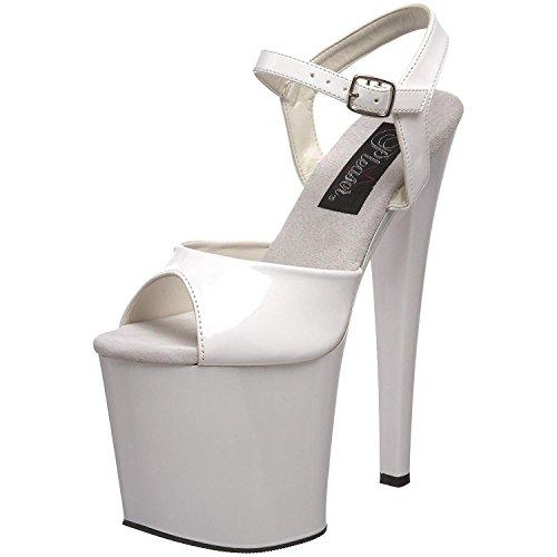 1 Pleaser Del 2 Clubwear 7 Piattaforma Cavigliera 709 Spillo Tallone Sandalo Tabu nHqHW61wA