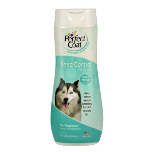 Perfect Coat Shed Control Shampoo for Dogs, 16-Ounce ()