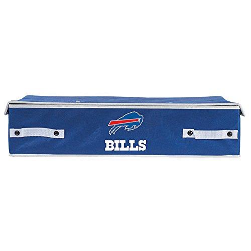 Franklin Sports NFL Buffalo Bills Under The Bed Storage Bins - Large Buffalo Bills Nfl Bed