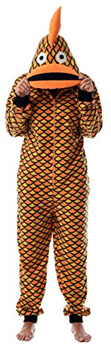 Fun Adult Pajamas - Just Love Adult Onesie Pajamas Goldfish