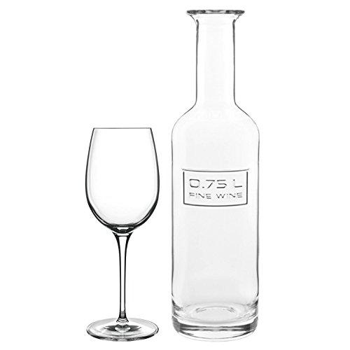 Luigi Bormioli Optima 6-Piece Wine Set with Free Wine ()