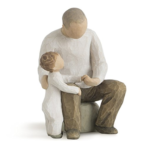 Willow Tree Grandfather Hand Painted Sculpture Figure