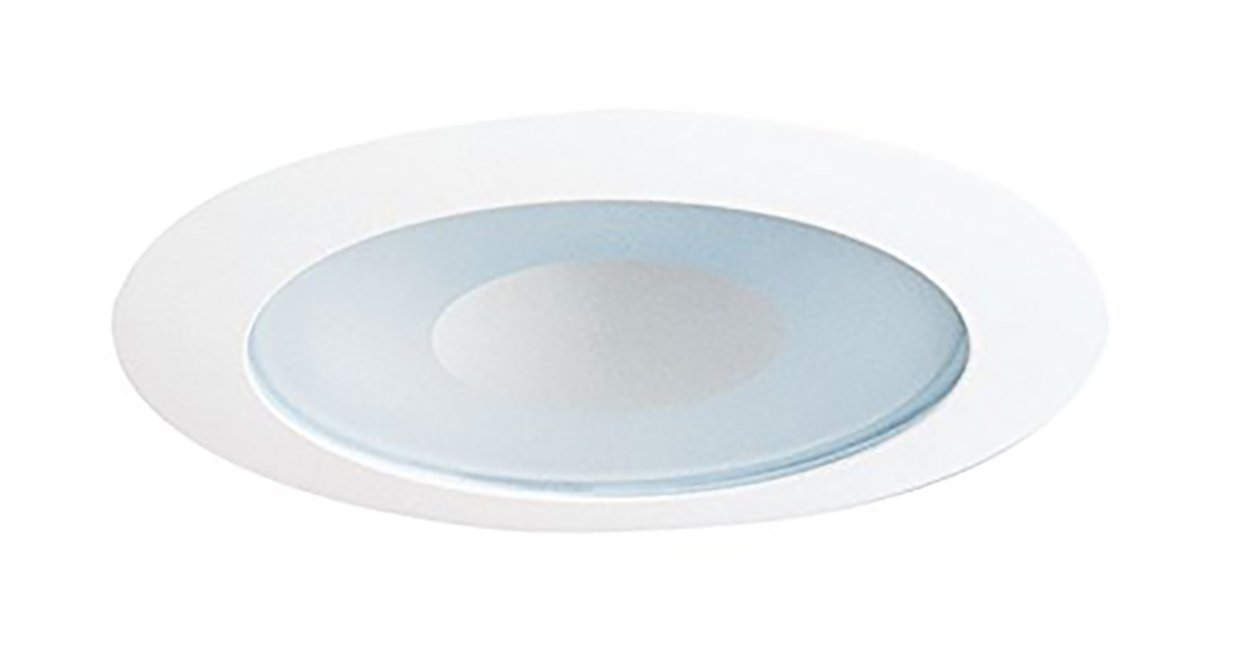 Juno Lighting 12W-WH 4-Inch Recessed Shower Trim, White