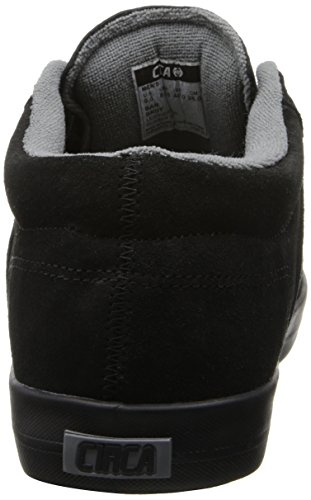 C1RCA Baron Unisex-Erwachsene Hausschuhe Noir - Black/Gray