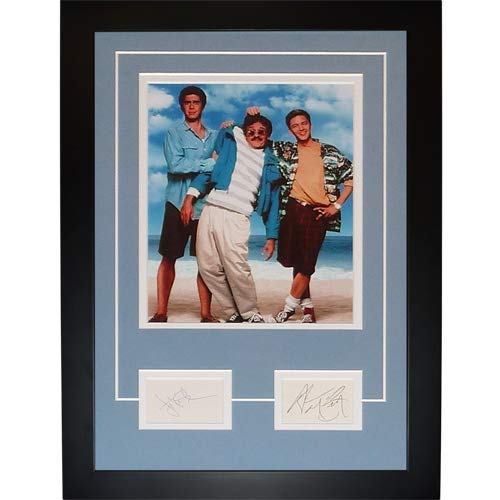 Jonathan Silverman And Andrew McCarthy Autographed Weekend At Bernies (Movie)
