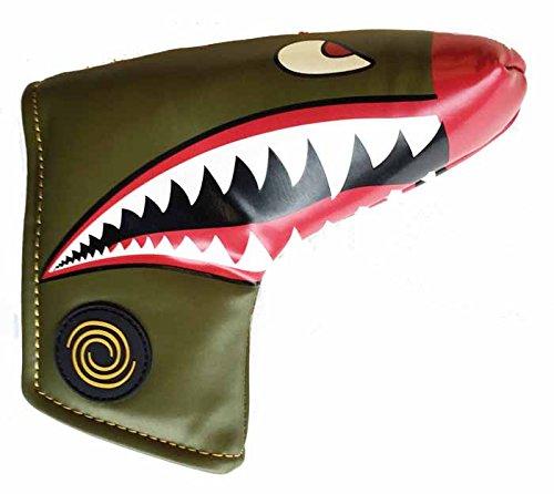 多くの危険がある状況プランターピッチャーodyssey(オデッセイ) Fighter Plane Blade Headcover  並行輸入品