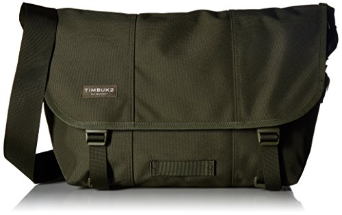 Timbuk2 Classic Messenger Unicolor Bag, Army, Medium (Timbuk2 Pad Strap)