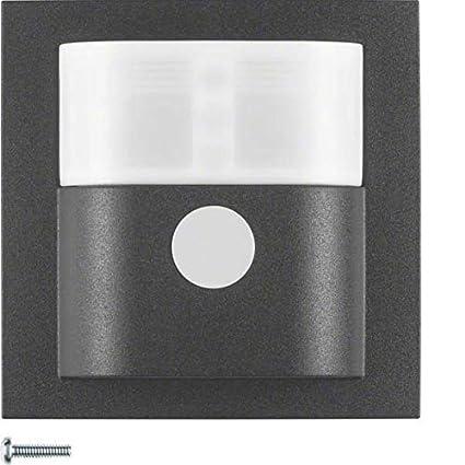 Hager - Detector movimiento quicklink rf 1.1m sin b antracita