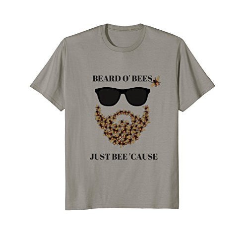 Mens Beard O' Bees Just Bee 'Cause Men's Short-Sleeve - Bee The Cause