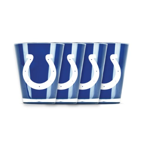 NFL Indianapolis Colts Shot Glass Set (4-Piece)
