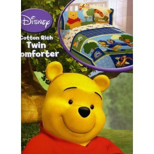 (Disney Winnie the Pooh Sounds Like a Mystery Comforter TWIN SIZE (Twin Size))