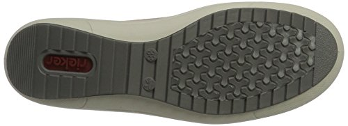 Rieker M6014, Zapatillas Mujer Marrón
