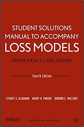 Amazon student solutions manual to accompany loss models from amazon student solutions manual to accompany loss models from data to decisions fourth edition 9781118315316 stuart a klugman harry h panjer fandeluxe Images