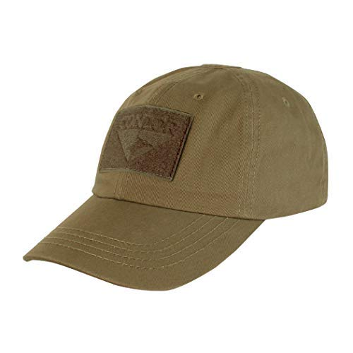 Condor Outdoor Tactical Cap - Brown (Tactical Hat With Patch)