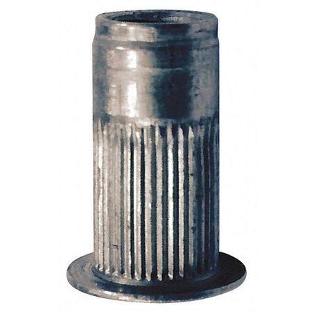 Rivet Nut, Aluminum, 0.680'' L, PK10 (2 Pieces) by AVK