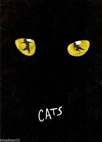 "Betty Buckley ""CATS"" Andrew Lloyd Webber 1982 Broadway Souvenir Program"