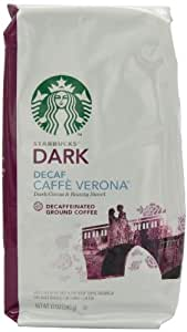 Amazon Com Starbucks Decaf Caffe Verona Ground Coffee