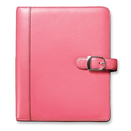 day-timer-48434-pink-ribbon-loose-leaf-organizer-starter-set-5-1-2-x-8-1-2-pink-white