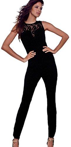 26b705ab5f0fb3 Lukis Overall Catsuit Jumpsuit Hosenanzug jumpsuit Playsuit Spitze Lace M:  Amazon.de: Bekleidung