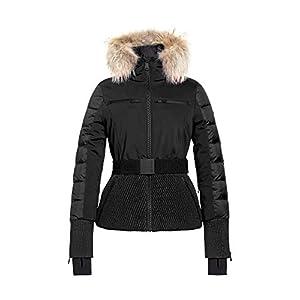 GOLDBERGH Stylish Down Ski Jacket with Real Fur Womens