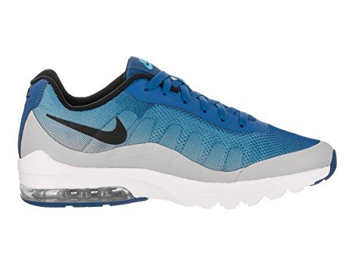 Nike Mens Air Max Invigor Stampa Scarpe Da Corsa Blue Jay / Nero / Grigio Lupo / Blu Furia