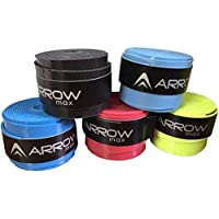 ArrowMax Dotted Badminton Grip (Pack of 5, Multicolour)