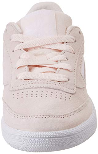 000 Tenis pale Grey Para C Pink Nbk white Trim Mujer De Rosa Reebok Zapatillas 85 Club powder a440q