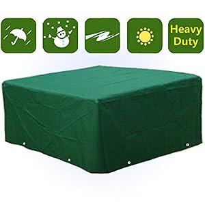 Waterproof Heavy Duty Rectangular Furniture Cover Patio ...