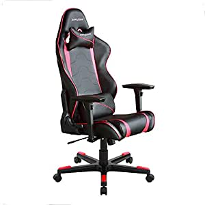 DX Racer DOH/RF8/NR Newedge Edition Racing Bucket Seat Office Chair Gaming Chair Automotive Racing Seat Computer Chair eSports Chair Executive Chair Furniture With Pillows (Black/Red)