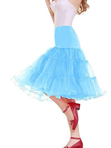 Vianla - Vestido - para mujer azul celeste