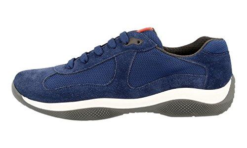Sneaker Prada Mens 4e2043 53p F0y8e In Pelle